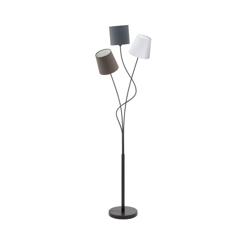 Eglo-94995 - Maronda - Different Shades & Black 3 Light Floor Lamp