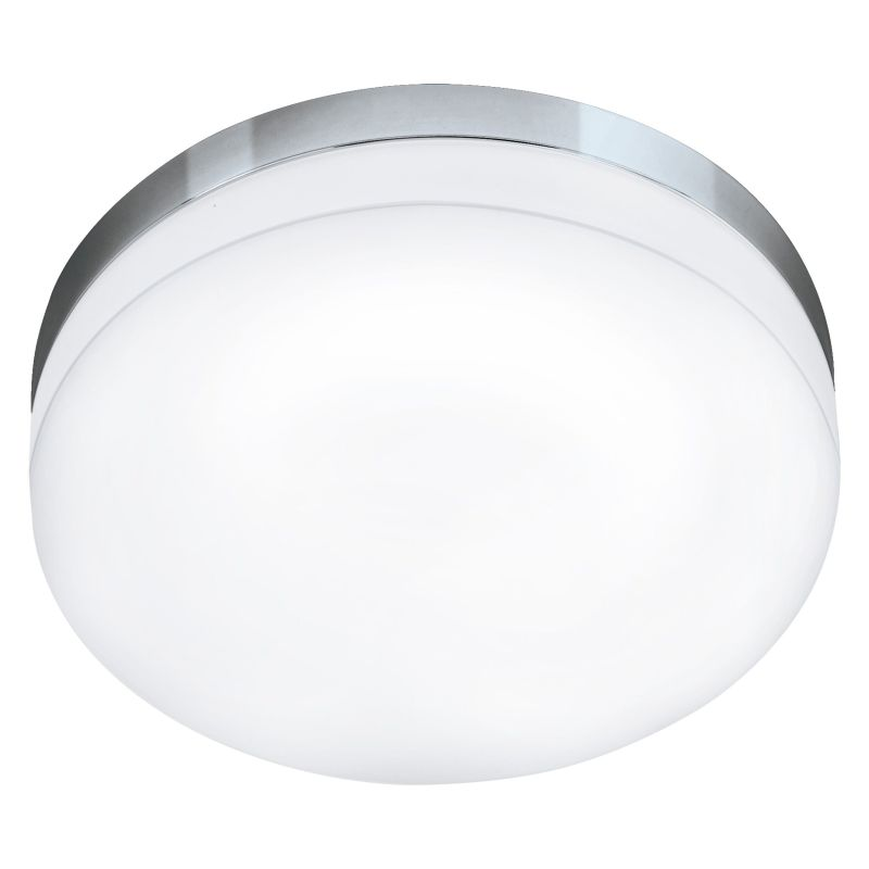 Eglo-95001 - Led Lora - LED White & Chrome Medium Ceiling Lamp