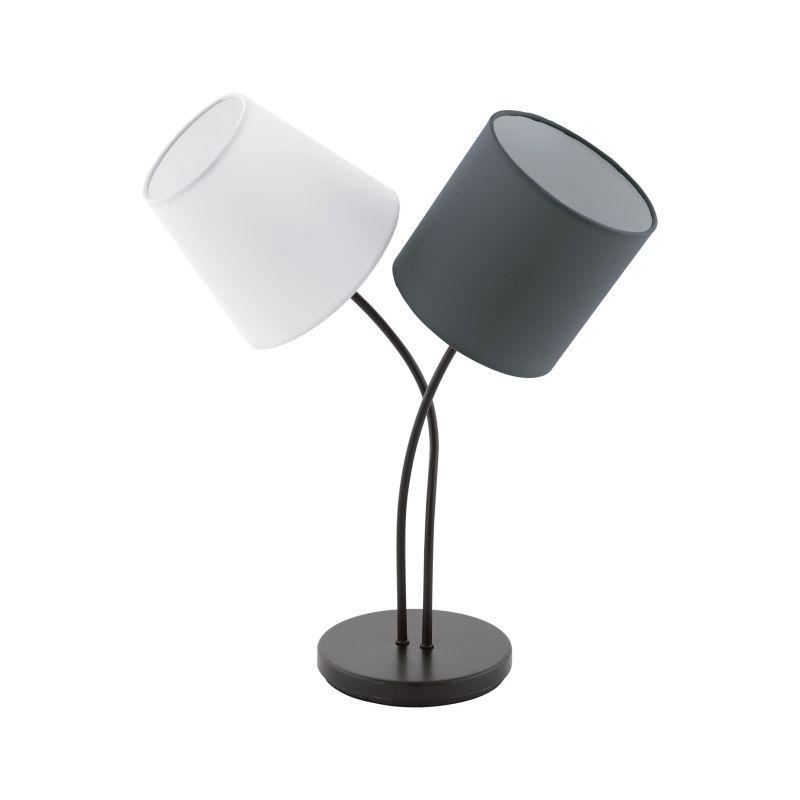 Eglo-95194 - Almeida - Different Shades & Black 2 Light Table Lamp