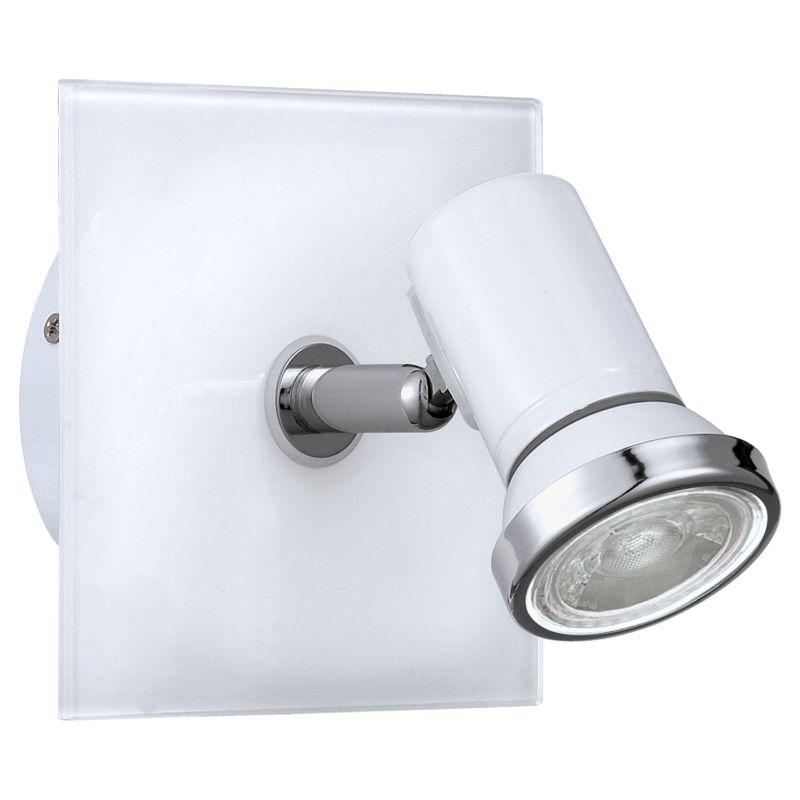 Eglo-95993 - Tamara 1 - White & Chrome Wall Spotlight