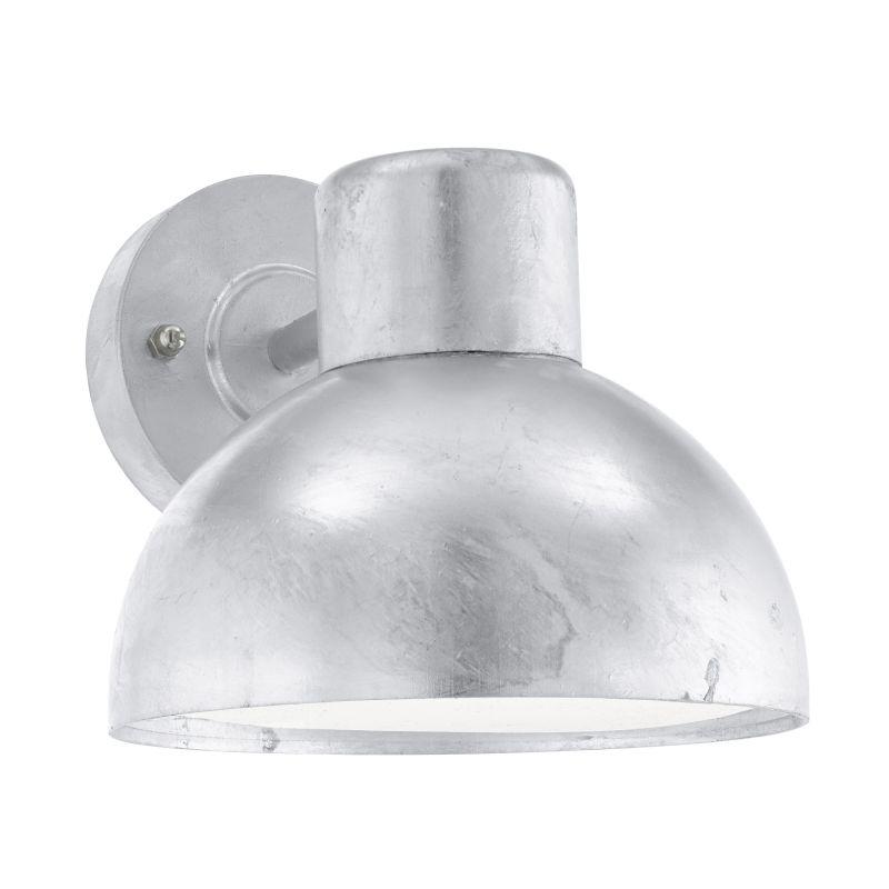 Eglo-96206 - Entrimo - Outdoor White & Silver Wall Lamp