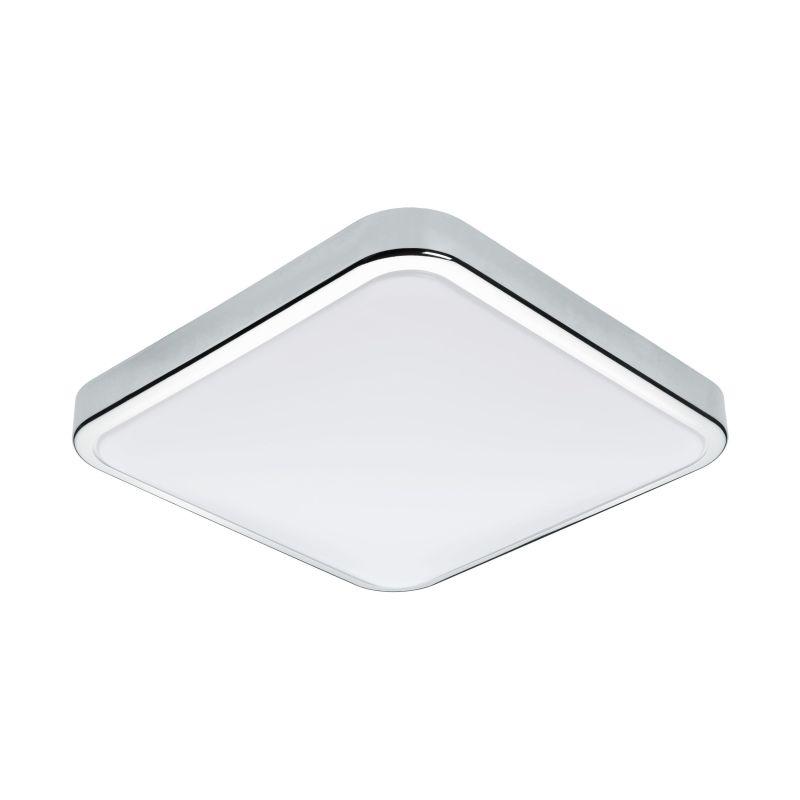 Eglo-96229 - Manilva 1 - LED White & Polished Chrome Ceiling Lamp