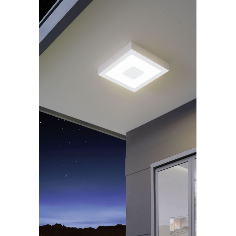 Eglo-96488 - Iphias - Outdoor LED White Wall / Ceiling Lamp