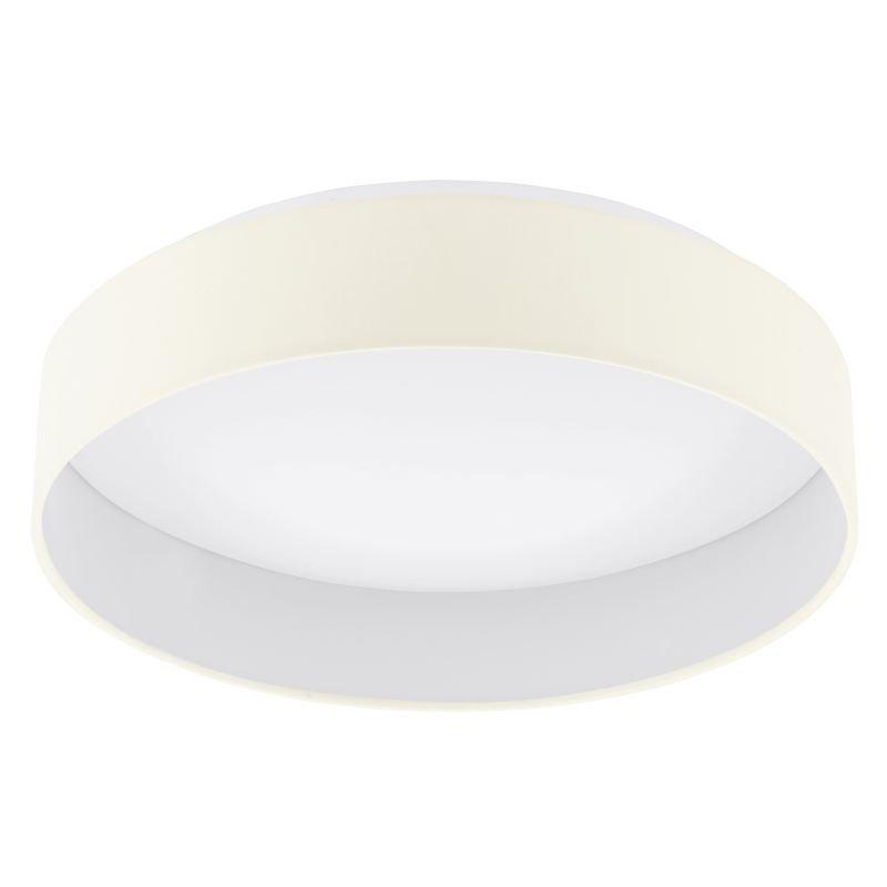 Eglo-96537 - Palomaro 1 - LED Cream with Diffuser Medium Ceiling Lamp