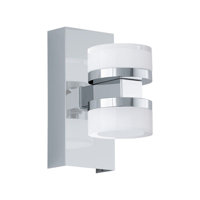 Eglo-96541 - Romendo 1 - LED Frosted & Chrome Up&Down Dimm Wall Lamp