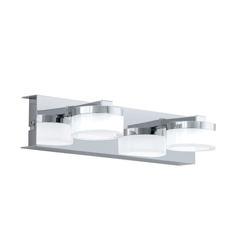 Eglo-96542 - Romendo 1 - LED Frosted & Chrome 2 Light Dimm Wall Lamp