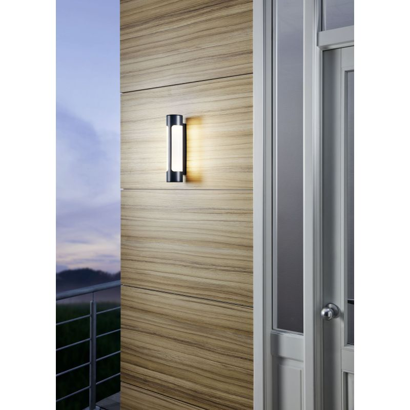 Eglo-97119 - Tonego - Outdoor LED White & Anthracite Wall Lamp