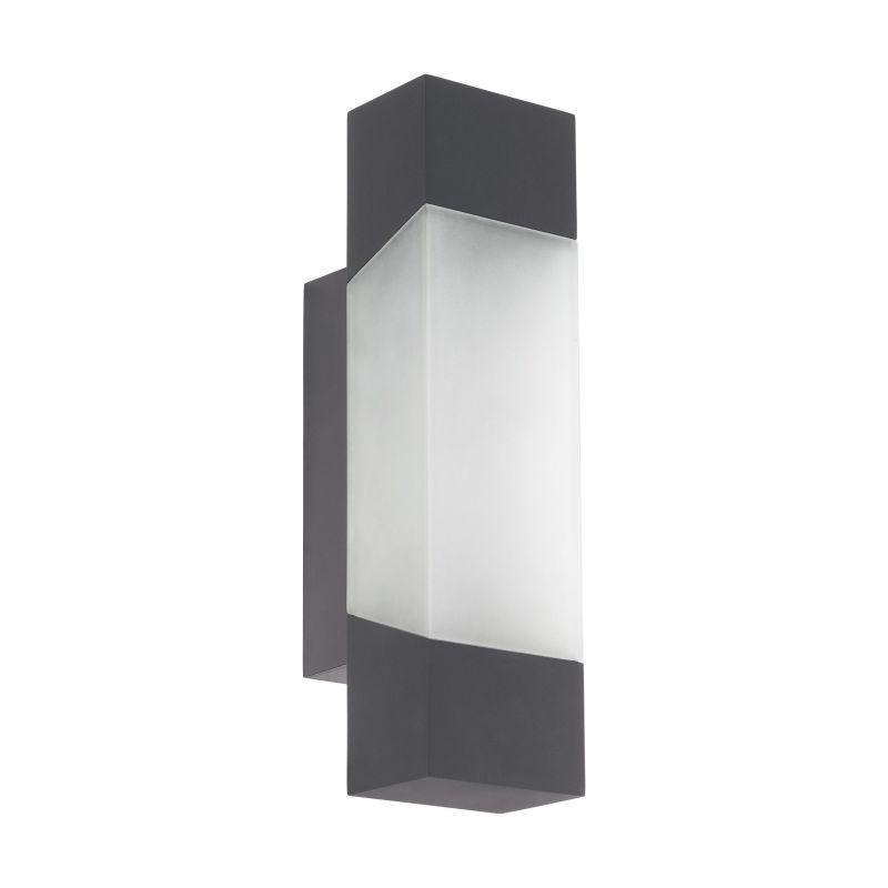 Eglo-97222 - Gorzano - Outdoor LED White & Anthracite Wall Lamp
