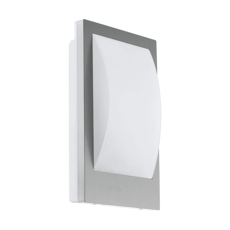 Eglo-97239 - Verres-C - Outdoor White & Stainless Steel Wall Lamp