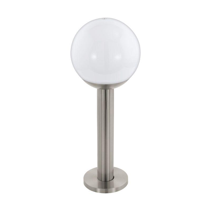 Eglo-97248 - Nisia-C - Outdoor White & Stainless Steel Bollard