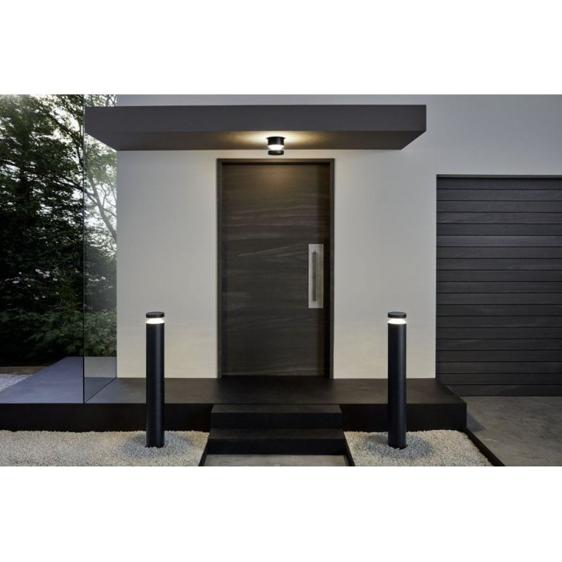 Eglo-97303 - Melzo - Outdoor LED Black Wall/Ceiling Lamp