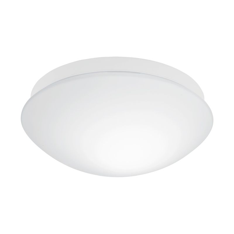 Eglo-97531 - Bari-M - White Glass with Sensor Ceiling Lamp