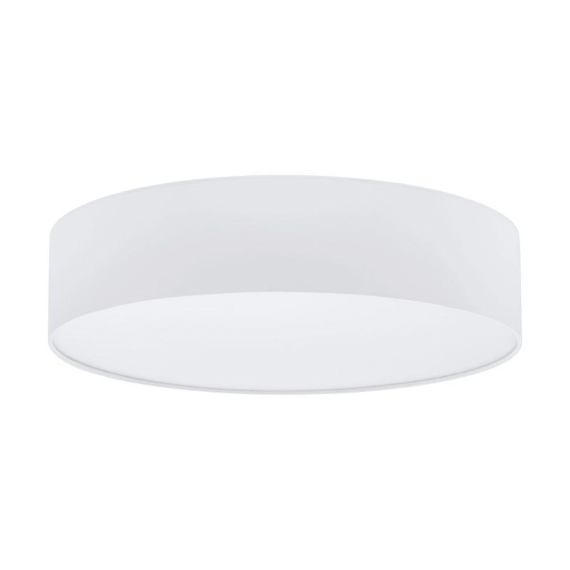Eglo-97611 - Pasteri - White Fabric & White Diffuser 3 Light Ceiling Lamp