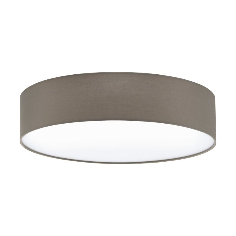 Eglo-97612 - Pasteri - Taupe & White Diffuser 3 Light Ceiling Lamp