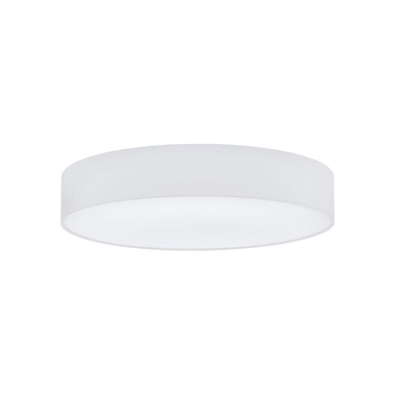 Eglo-97615 - Pasteri - White Fabric & White Diffuser 5 Light Ceiling Lamp