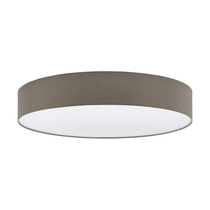 Eglo-97616 - Pasteri - Taupe & White Diffuser 5 Light Ceiling Lamp