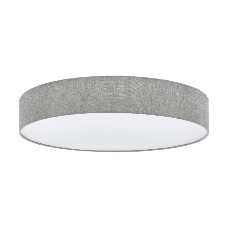 Eglo-97617 - Pasteri - Grey Linen & White Diffuser 5 Light Ceiling Lamp