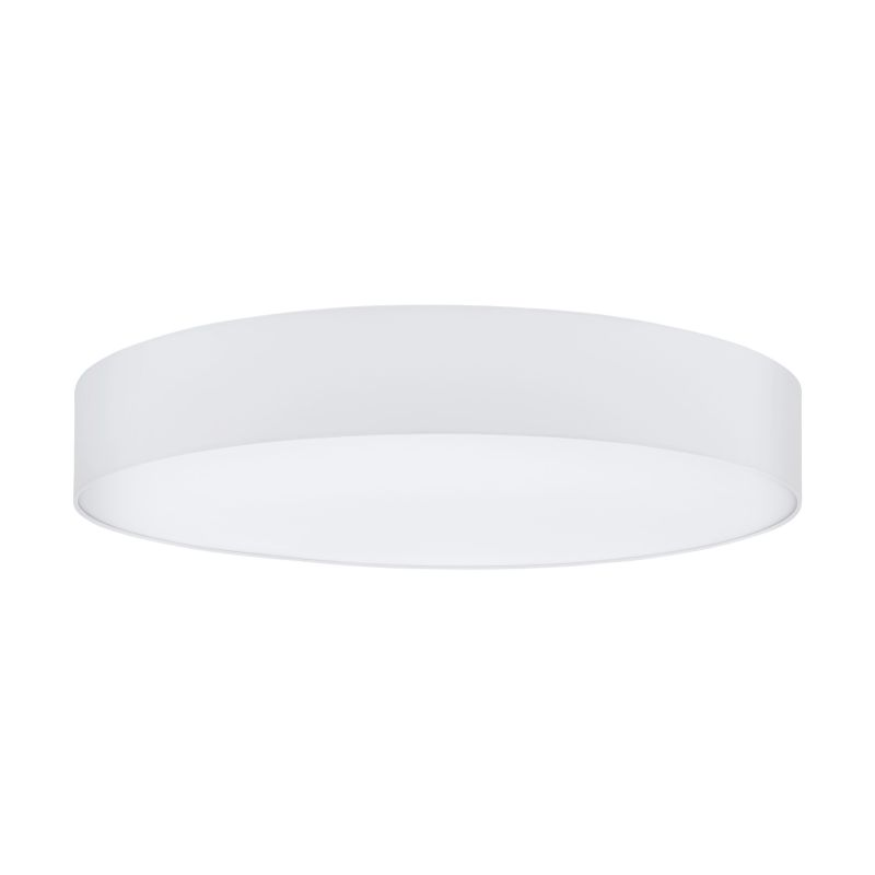 Eglo-97619 - Pasteri - White Fabric & White Diffuser 7 Light Ceiling Lamp