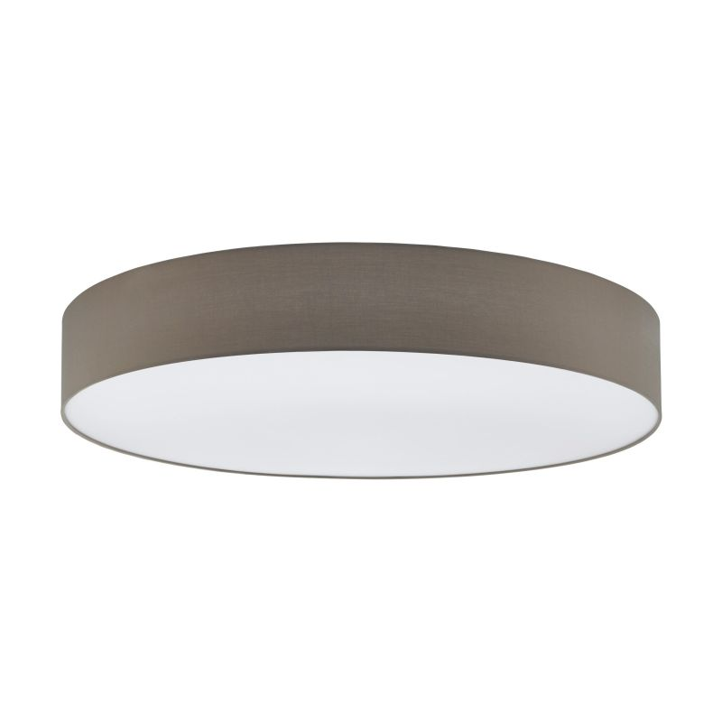 Eglo-97621 - Pasteri - Taupe & White Diffuser 7 Light Ceiling Lamp