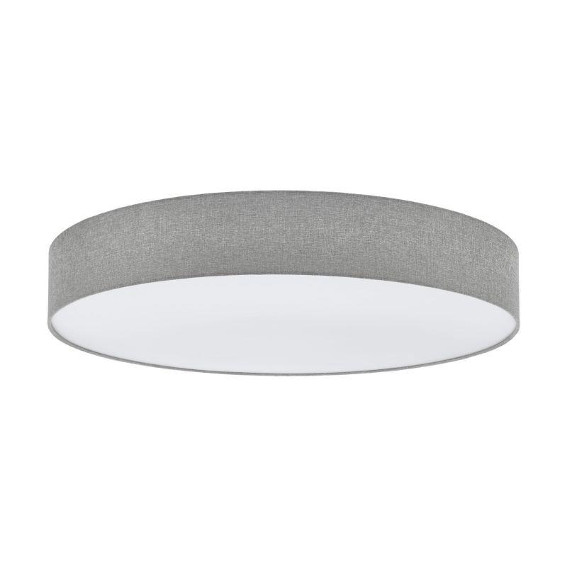 Eglo-97622 - Pasteri - Grey Linen & White Diffuser 7 Light Ceiling Lamp
