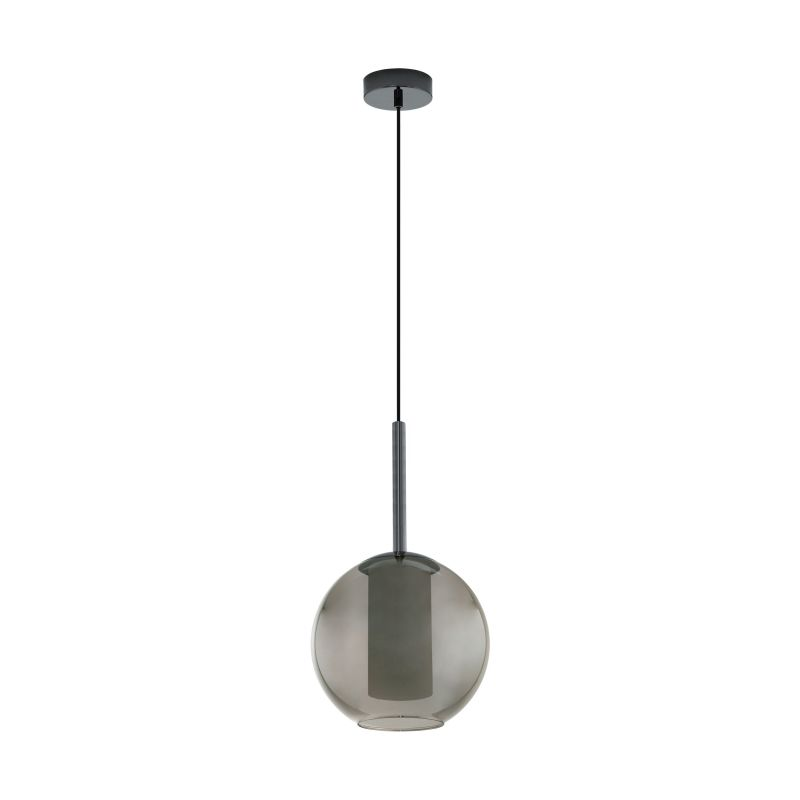 Eglo-97633 - Tindari - Double Glass with Black Nickel Single Pendant