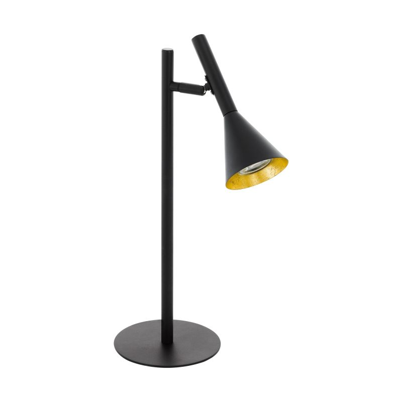 Eglo-97805 - Cortaderas - Black & Gold Table Lamp