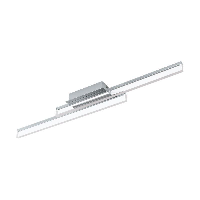 Eglo-97965 - Palmital - LED Clear & Aluminium Steel Ceiling Lamp