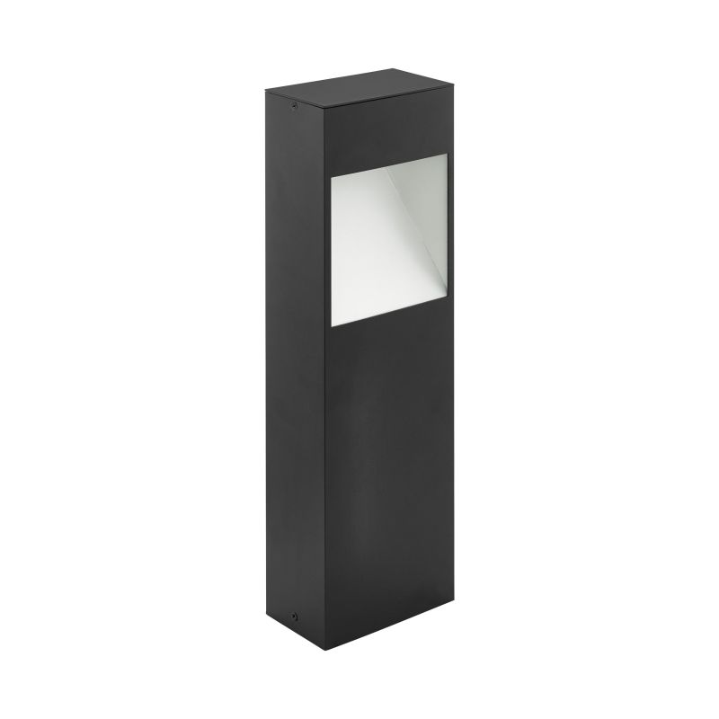 Eglo-98096 - Manfria - Outdoor LED Anthracite & White Small Post
