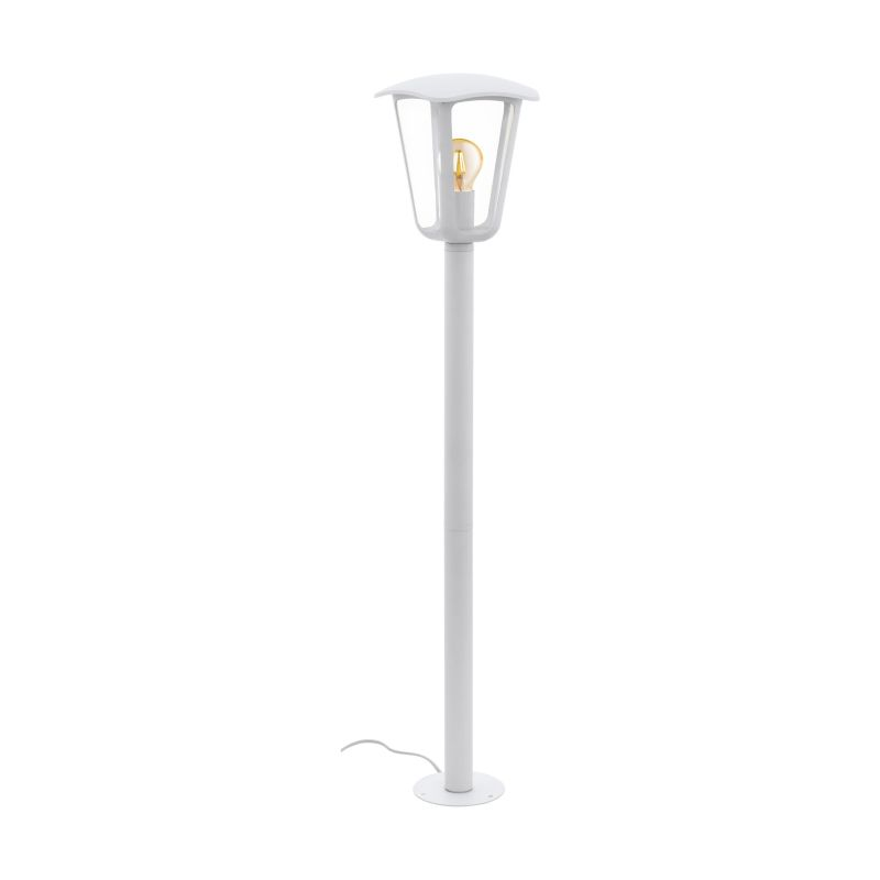 Eglo-98118 - Monreale - Outdoor Clear & White Medium Post