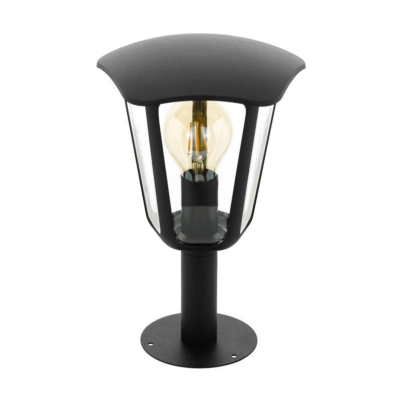 Eglo-98122 - Monreale - Outdoor Clear & Black Small Post