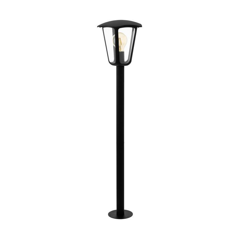 Eglo-98123 - Monreale - Outdoor Clear & Black Medium Post