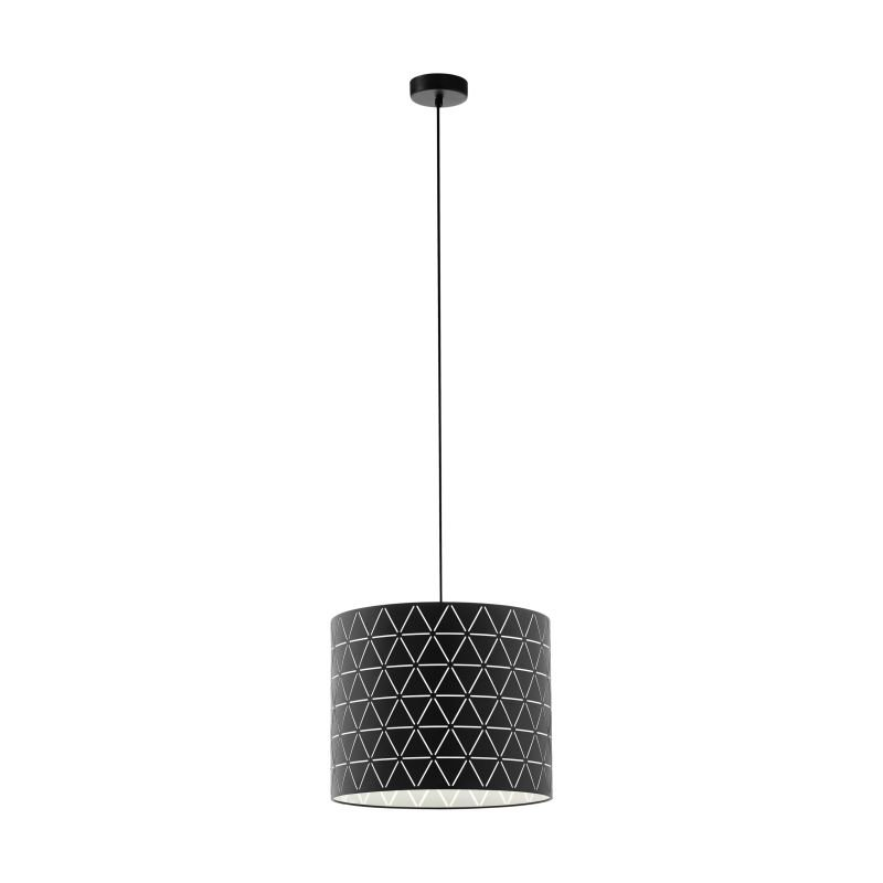Eglo-98351 - Ramon - Decorative Black Single Pendant