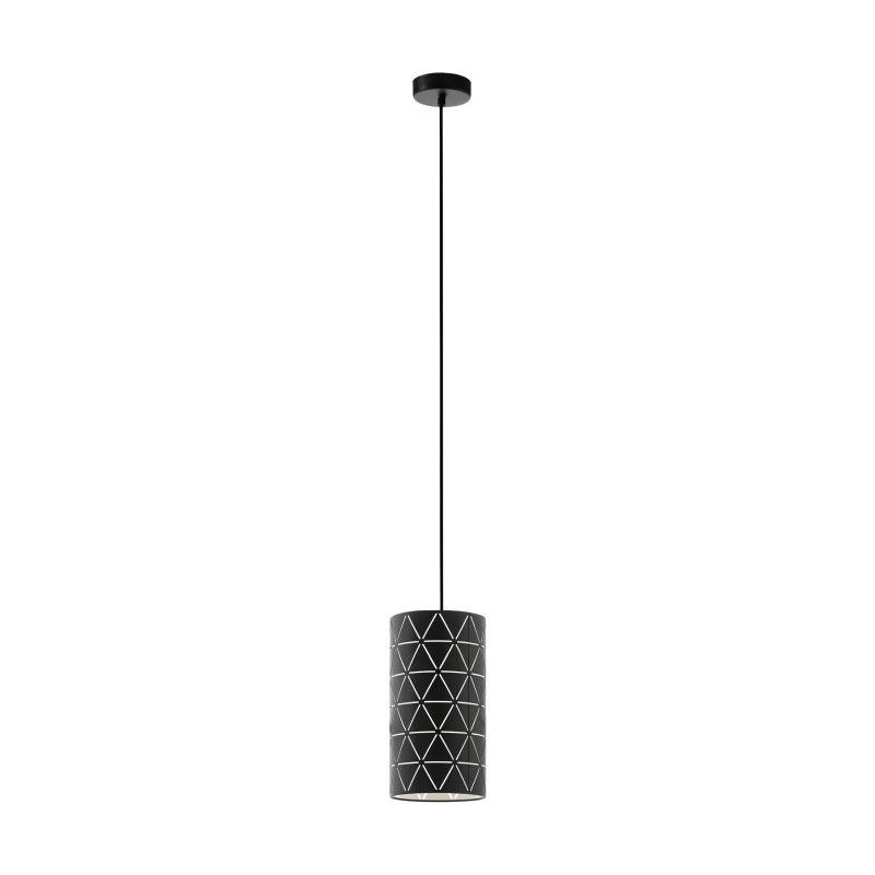 Eglo-98352 - Ramon - Decorative Black Small Single Pendant