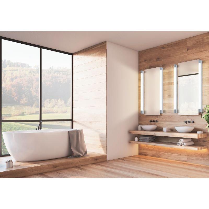 Eglo-98442 - Tragacete - LED White & Chrome over Mirror Small Wall Lamp