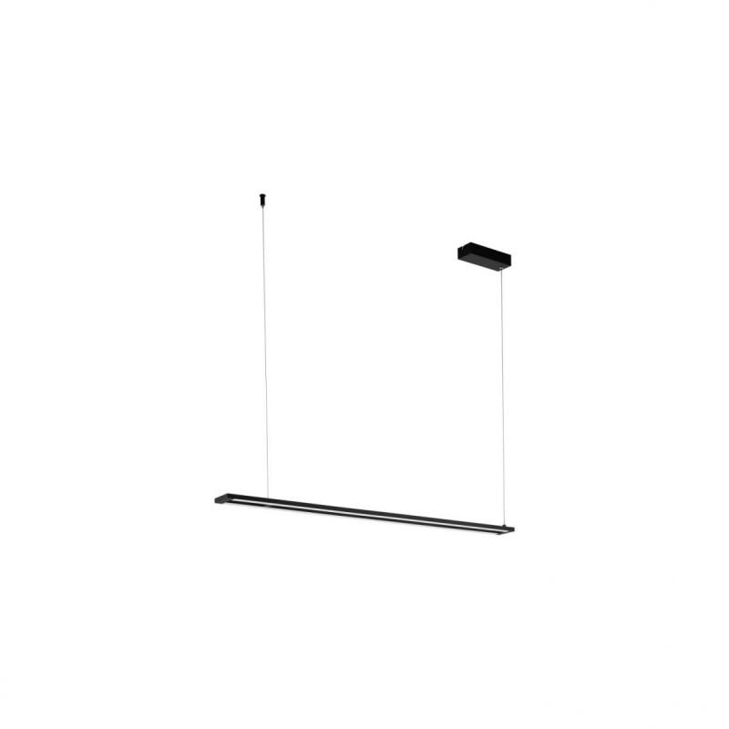 Eglo-98492 - Amontillado - LED White & Black Linear Pendant
