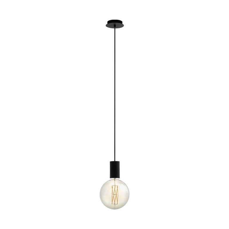 Eglo-98661 - Pozueta - Black Single Hanging Pendant