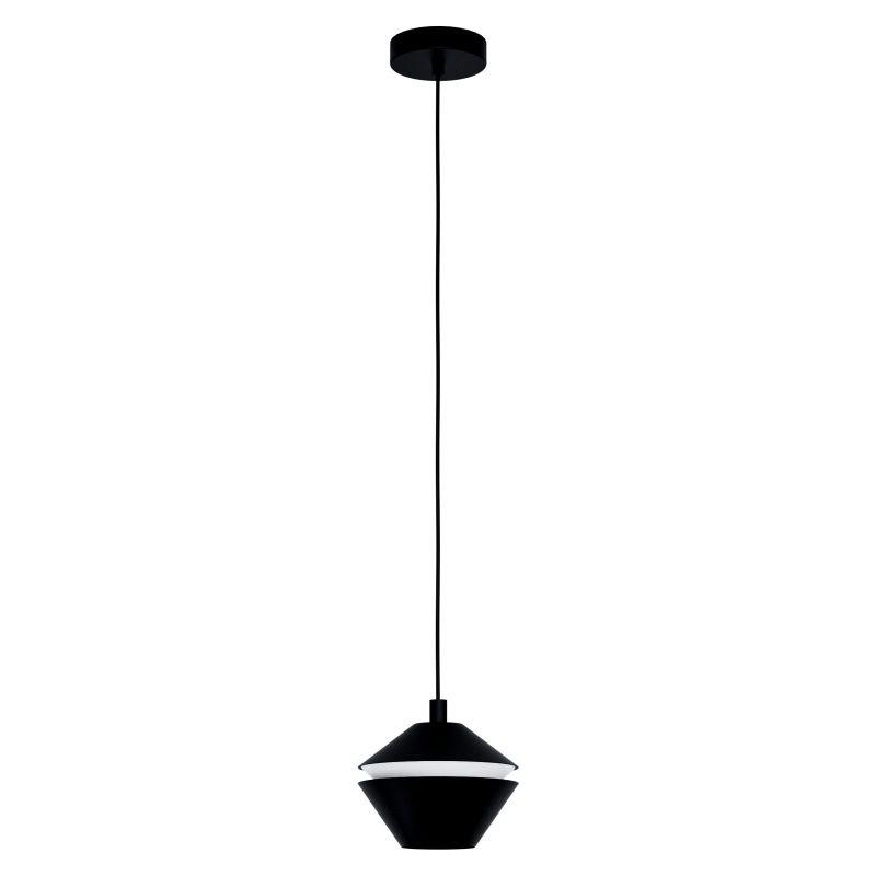 Eglo-98681 - Perpigo - Black & White Single Pendant