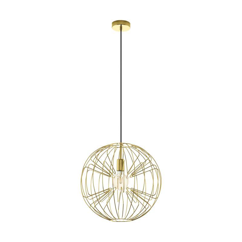 Eglo-98689 - Okinzuri - Gold Globe Single Pendant