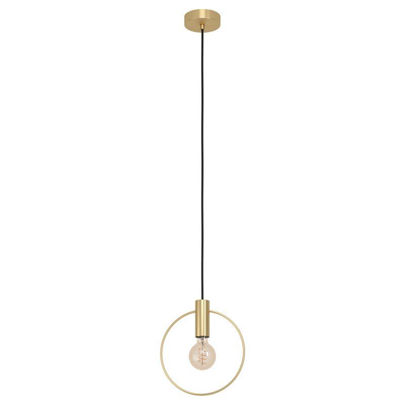 Eglo-98834 - Manizales - Brushed Gold Ring Pendant