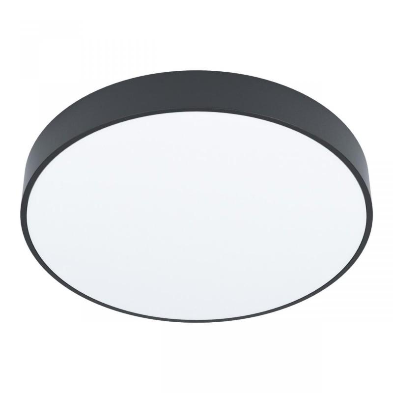 Eglo-98894 - Zubieta-A - LED Black & White ∅30 Flush with Remote Control