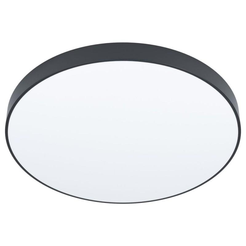 Eglo-98895 - Zubieta-A - LED Black & White ∅45 Flush with Remote Control