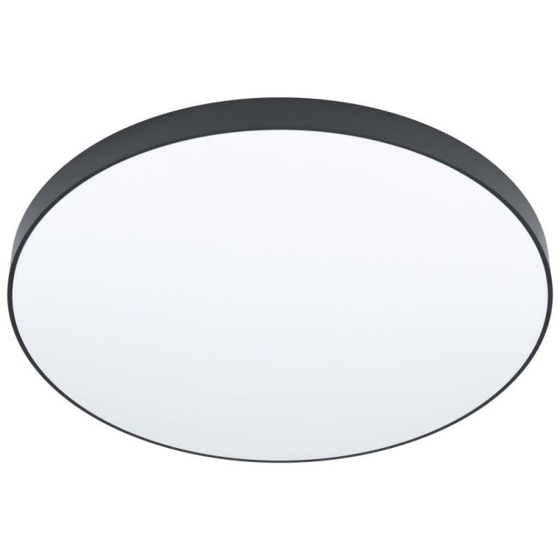 Eglo-98896 - Zubieta-A - LED Black & White ∅59.5 Flush with Remote Control