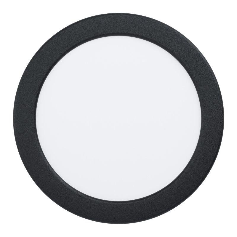 Eglo-99212 - Fueva 5 - LED Black & White Recessed Downlight Ø 16.6 cm 3000K
