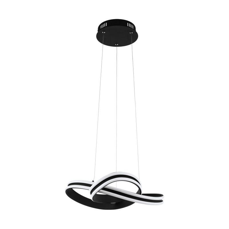 Eglo-99249 - Corredera - LED Black & White Hanging Pendant