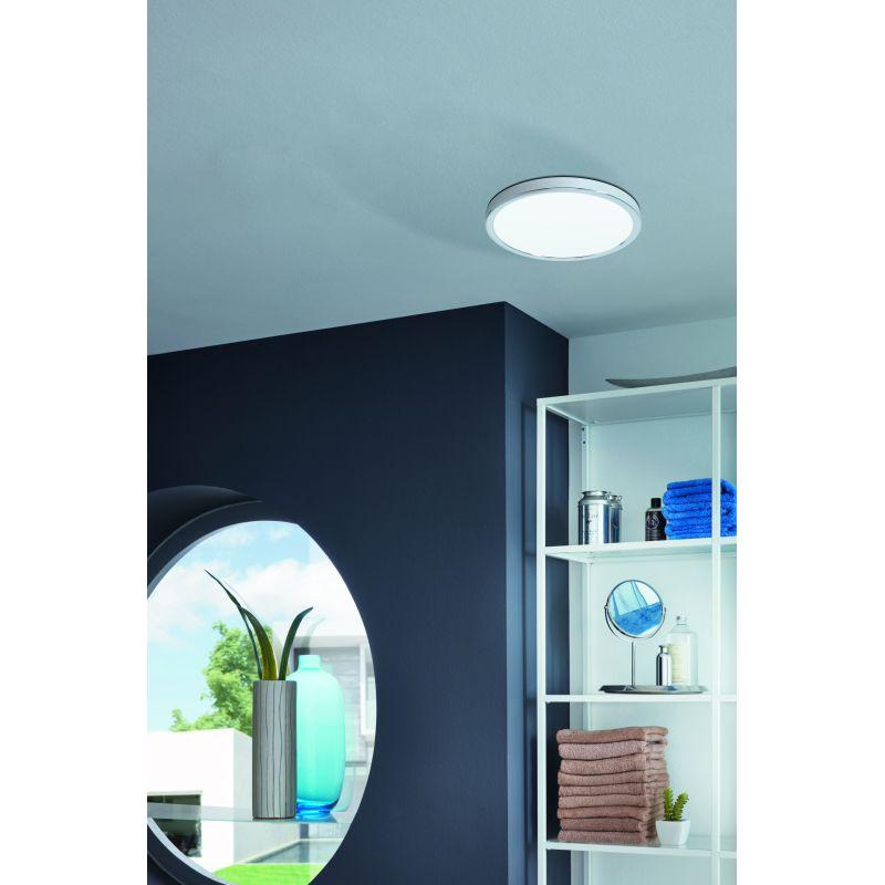 Eglo-99266 - Fueva 5 - LED White & Chrome Ceiling Lamp