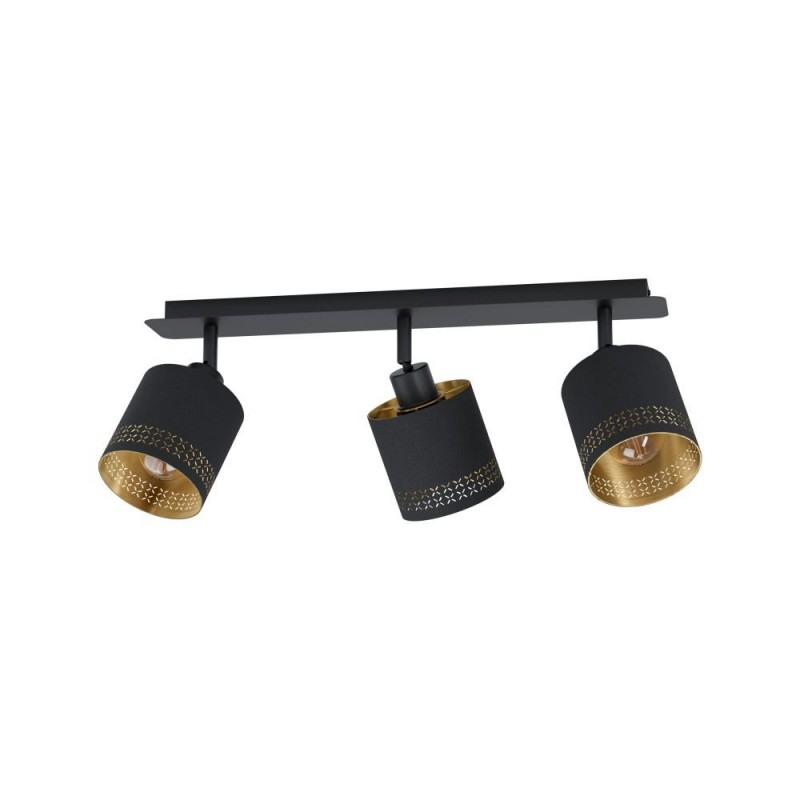 Eglo-99278 - Esteperra - Elegant Black & Gold 3 Light Spotlight