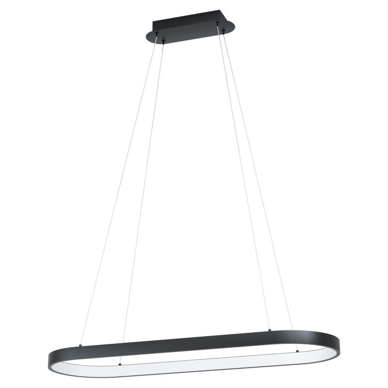 Eglo-99358 - Codriales - LED Oval Black & White over Island Fitting