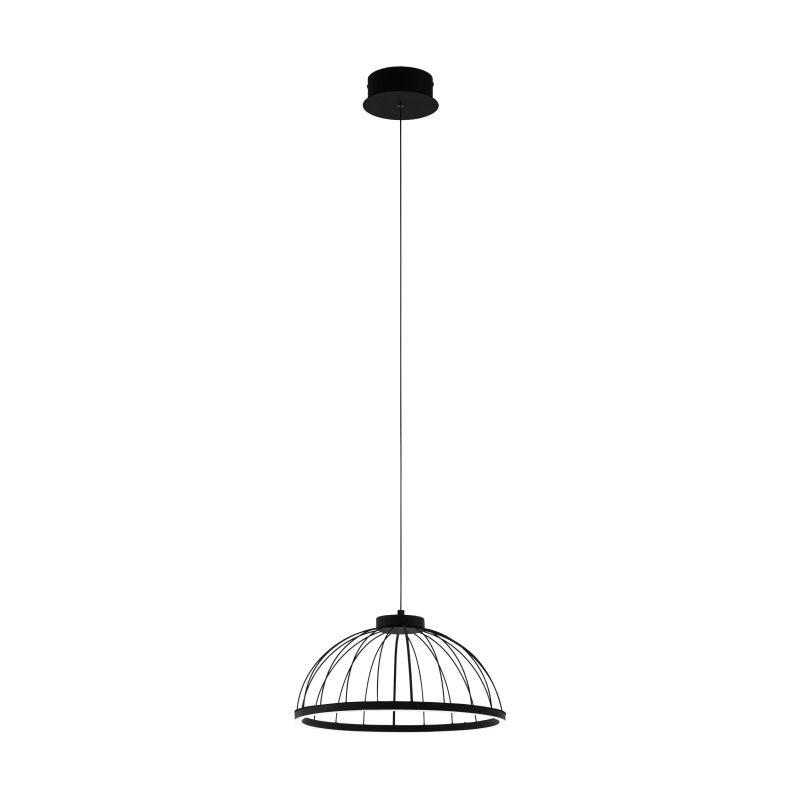Eglo-99401 - Bogotenillo - LED Black & White Medium Hanging Pendant