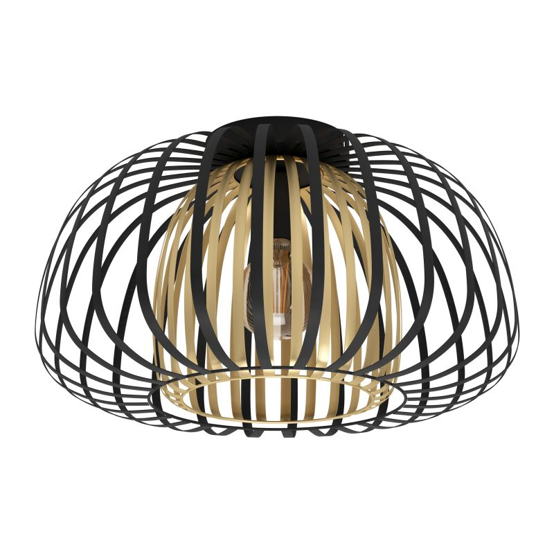 Eglo-99664 - Encinitos - Black & Gold Ceiling Lamp