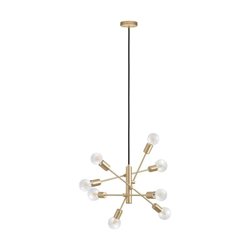 Eglo-99811 - Gradoli 1 - Brushed Gold 8 Light Centre Fitting